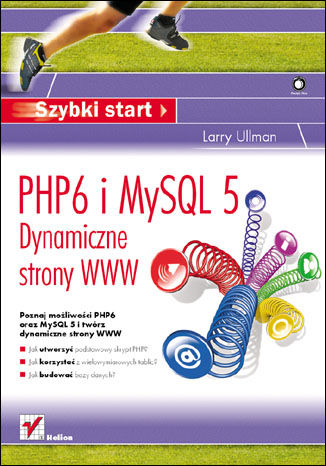 Okładka książki/ebooka PHP6 i MySQL 5. Dynamiczne strony WWW. Szybki start