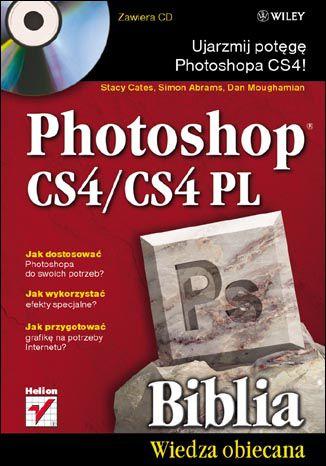Okładka książki/ebooka Photoshop CS4/CS4 PL. Biblia