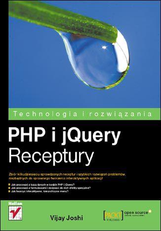 Okładka książki/ebooka PHP i jQuery. Receptury