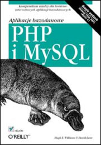 Okładka książki/ebooka PHP i MySQL. Aplikacje bazodanowe