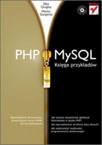 Okładka książki/ebooka PHP i MySQL. Księga przykładów