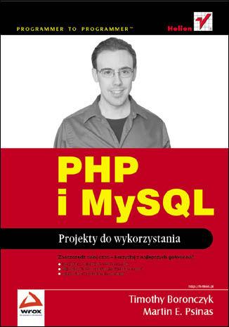 Okładka książki/ebooka PHP i MySQL. Projekty do wykorzystania