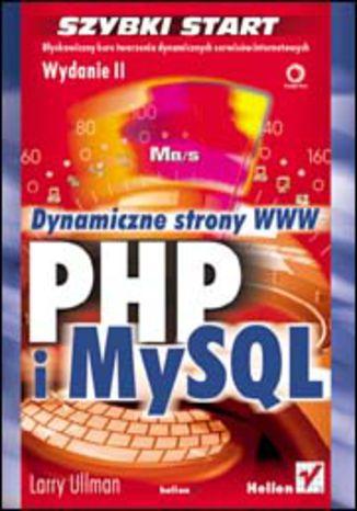 Okładka książki/ebooka PHP i MySQL. Dynamiczne strony WWW. Szybki start. Wydanie II