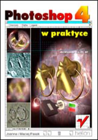 Okładka książki/ebooka Photoshop 4 w praktyce