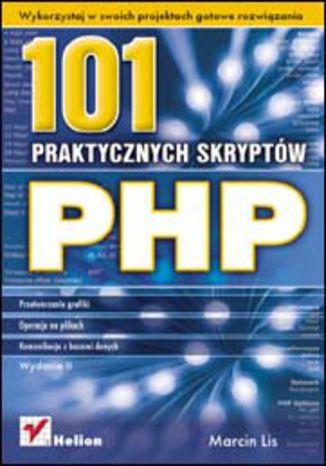 Okładka książki/ebooka PHP. 101 praktycznych skryptów. Wydanie II