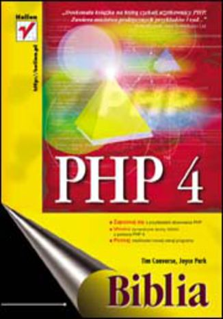 Okładka książki/ebooka PHP 4. Biblia