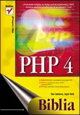 Okładka książki PHP 4. Biblia