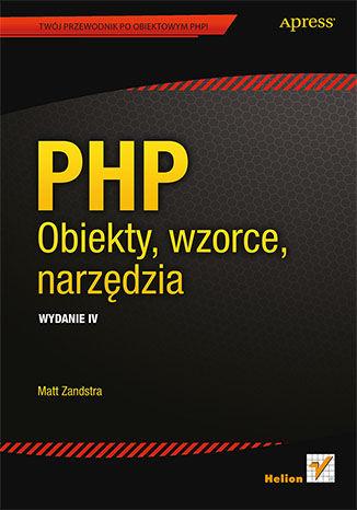 Okładka książki/ebooka PHP. Obiekty, wzorce, narzędzia. Wydanie IV