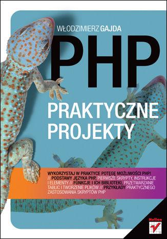 Okładka książki/ebooka PHP. Praktyczne projekty
