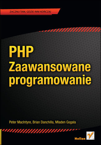 Okładka książki/ebooka PHP. Zaawansowane programowanie