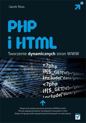 Okładka książki/ebooka PHP i HTML. Tworzenie dynamicznych stron WWW