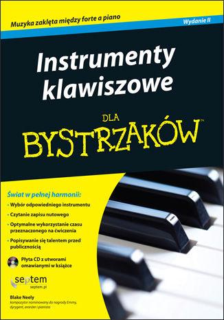 Okładka książki/ebooka Instrumenty klawiszowe dla bystrzaków. Wydanie II