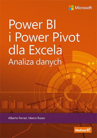 Okładka książki Power BI i Power Pivot dla Excela. Analiza danych