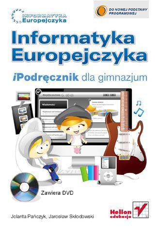 Okładka książki/ebooka Informatyka Europejczyka. iPodręcznik dla gimnazjum