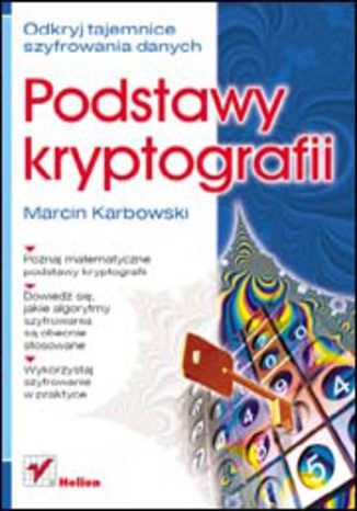 Okładka książki Podstawy kryptografii