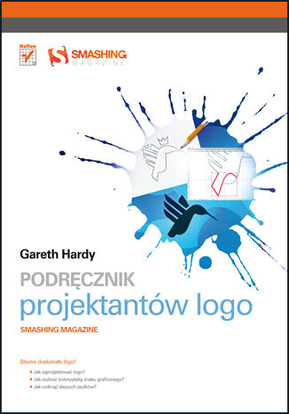 Okładka książki/ebooka Podręcznik projektantów logo. Smashing Magazine