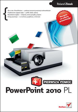 Okładka książki/ebooka PowerPoint 2010 PL. Pierwsza pomoc