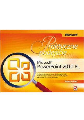 Okładka książki/ebooka Microsoft PowerPoint 2010 PL. Praktyczne podejście