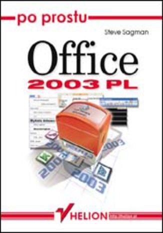 Okładka książki/ebooka Po prostu Office 2003 PL