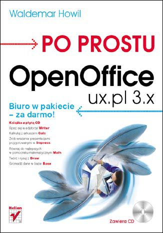 Okładka książki/ebooka Po prostu OpenOffice.ux.pl 3.x