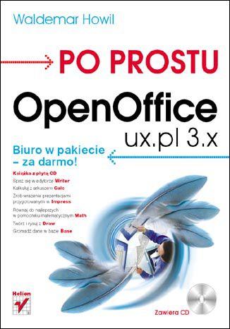 Okładka książki Po prostu OpenOffice.ux.pl 3.x