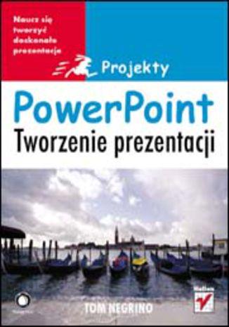 Okładka książki PowerPoint. Tworzenie prezentacji. Projekty