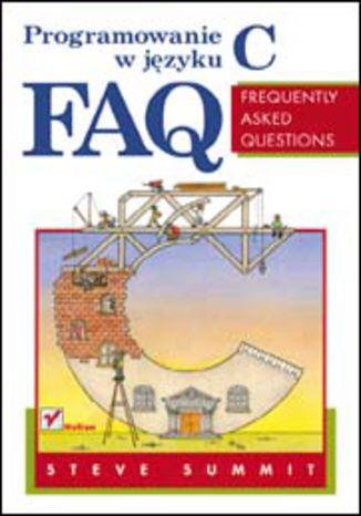 Okładka książki Programowanie w języku C. FAQ