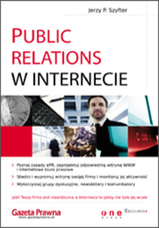 Okładka książki Public Relations w Internecie