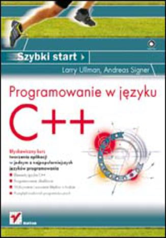 Okładka książki/ebooka Programowanie w języku C++. Szybki start