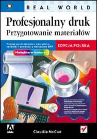 Okładka książki/ebooka Profesjonalny druk. Przygotowanie materiałów