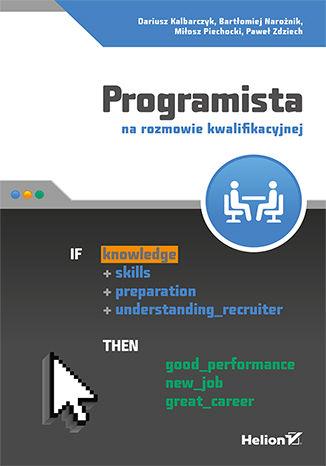 Okładka książki Programista na rozmowie kwalifikacyjnej