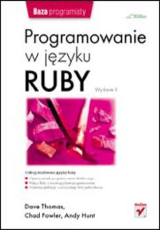 Okładka książki/ebooka Programowanie w języku Ruby. Wydanie II