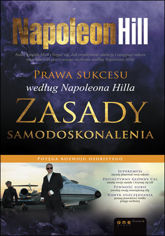 Okładka książki Prawa sukcesu według Napoleona Hilla. Zasady samodoskonalenia