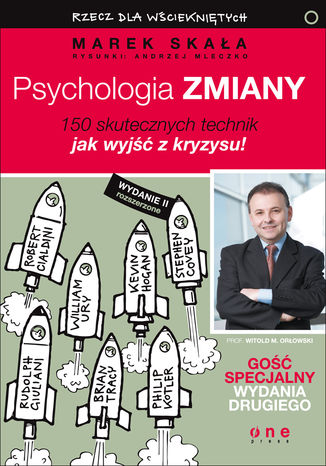Okładka książki Psychologia zmiany. Rzecz dla wściekniętych. Wydanie II rozszerzone. Książka z autografem