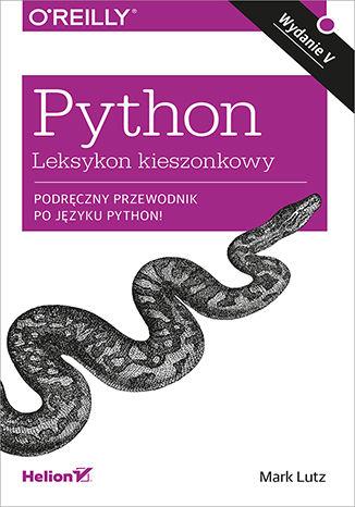 Okładka książki/ebooka Python. Leksykon kieszonkowy. Wydanie V