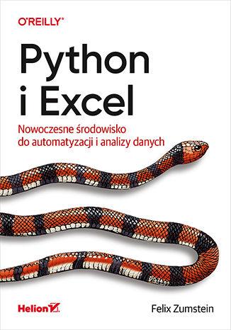 Okładka książki/ebooka Python i Excel. Nowoczesne środowisko do automatyzacji i analizy danych