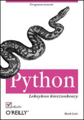 Okładka książki/ebooka Python. Leksykon kieszonkowy