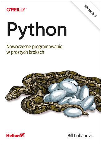 Okładka książki/ebooka Python. Nowoczesne programowanie w prostych krokach. Wydanie II