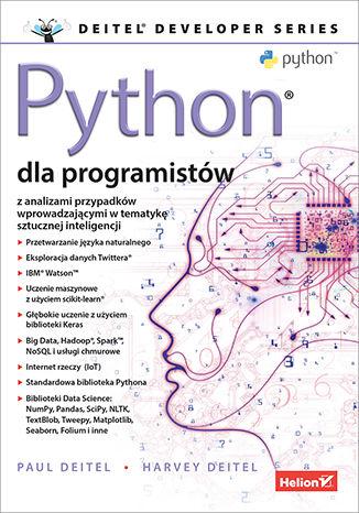 Okładka książki/ebooka Python dla programistów. Big Data i AI. Studia przypadków