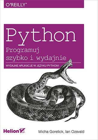 Okładka książki/ebooka Python. Programuj szybko i wydajnie