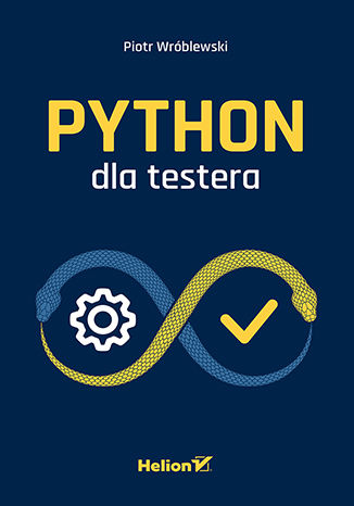 Okładka książki/ebooka Python dla testera