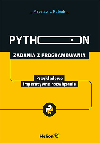 Okładka książki/ebooka Python. Zadania z programowania. Przykładowe imperatywne rozwiązania