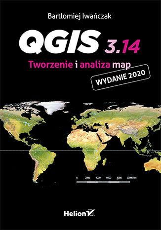 Okładka książki QGIS 3.14. Tworzenie i analiza map