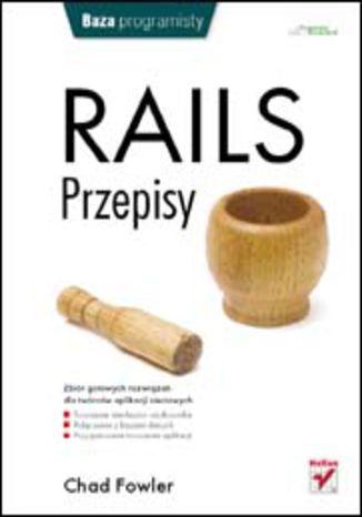 Okładka książki/ebooka Rails. Przepisy