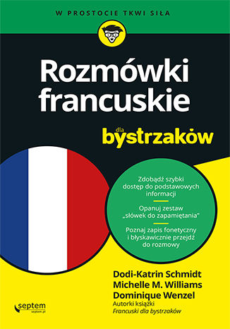 Okładka książki/ebooka Rozmówki francuskie dla bystrzaków