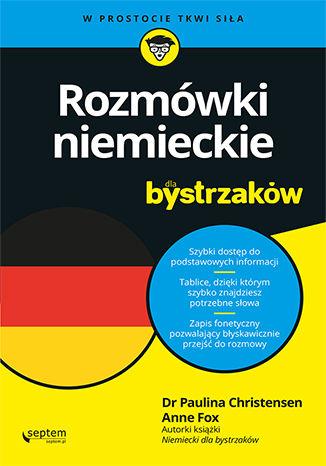 Okładka książki/ebooka Rozmówki niemieckie dla bystrzaków