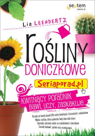 Okładka książki Rośliny doniczkowe. Seriaporad.pl