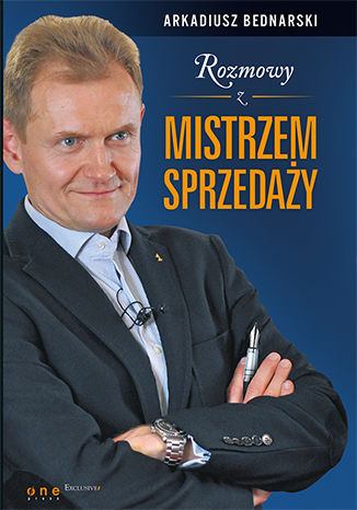 Okładka książki/ebooka Rozmowy z Mistrzem Sprzedaży. Książka z autografem