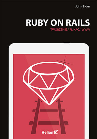 Okładka książki/ebooka Ruby on Rails. Tworzenie aplikacji WWW