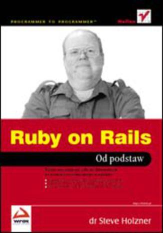 Okładka książki/ebooka Ruby on Rails. Od podstaw
